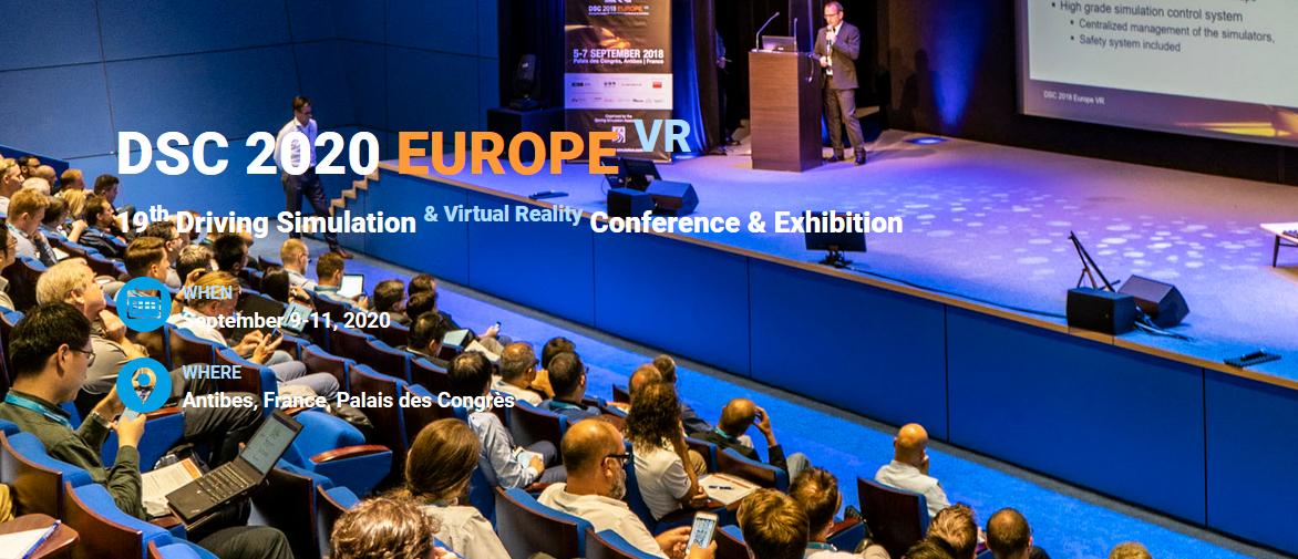 DSC 2020 Europe VR webpage is on!